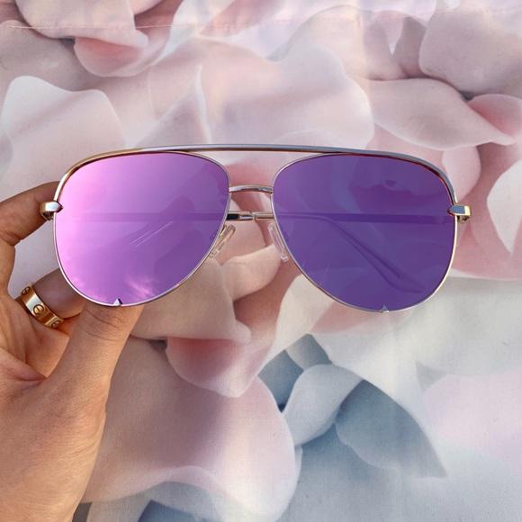 3b5b0810449f Pink Mirrored Aviator Sunglasses